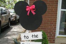 Mickey Mouse / Cumpleaños,  celebraciones,  tortas cupcake,  adornos,  centro de mesa,  etc.