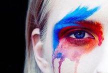 Ethnic Make Up? / Ethnic make-up or fashion painting... Ethic? Ethnic? Let's see