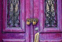 Pathways, Doors, Keyholes & The Like
