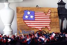4th of July Crafts 2015 / Unfinished 4th of July Wood Crafts