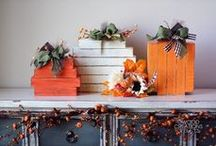 Fall Crafts 2015 / Fall Unfinished Wood Crafts