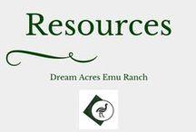 Emu Information & Resources