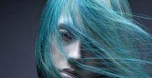 Blue Hair / Blue Hair, Teal hair, All of it!