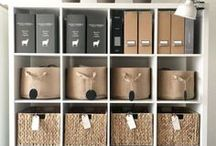 Home + Office Organization / Organize your home and office with tons of clever tips and tricks for a beautifully organized space.
