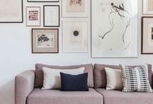 Wall Art / Wall art is a perfect solution for bringing light, color, and personality to your space.