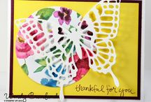Thank You Cards, Thank You Gifts, Thank You Ideas / Thank you cards using stampin up products, Thank you gifts, thank you ideas, ways to say thank you http://www.luvinstampin.com/?m=1