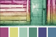 Paletas de colores . Color Palettes