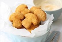 Maná Chef (Setas) . Vegetarian recipes with mushroms / Ideas para comer rico y divertirte haciendo de chef.