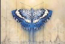 La vida en azúl indigo - colors: indigo blue