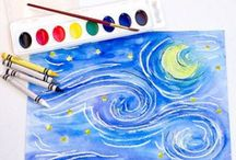 Kids Arts & Crafts Ideas / Arts and crafts ideas for kids.