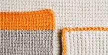 :: tunisian crochet :: / tunisian crochet