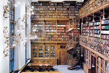 Library Room <3 / I really want a library room... This is what it would look like :') <3