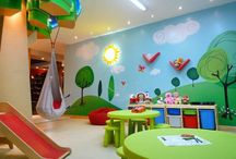 Playroom for the Kids <3 / A place of fun and joy, where my children can run free and play to their heart's content :') <3