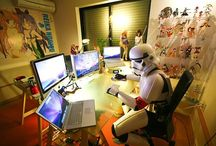 Office <3 / What my office would look like in my house :) <3