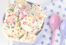 Ice Cream <3 / The creamy, sweet frozen delight that understands me :9 <3
