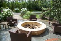 Outdoor Living Areas / Lovely outdoor spaces that Chalet Landscape Designers have created.