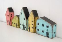 Overall house-shaped thing / Photograph,illustration, house-shaped miscellaneous goods