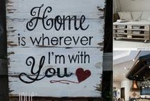 Home Decoration Ideas / All what we like to make out new home OUR home!