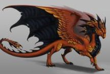 Dragon Characters / All the art of dragon characters created by other people...