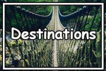 *Destinations* / Location! Location! Location! Where are you going next? Where would you like to go next? Share your favourites! Happy Pinning! If you would like an invite leave a comment on one of the posts here.
