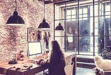 Arbeidsplass / Workspace / Interiørinspirasjon til arbeidsplassen.  Inspiration for your workspace.