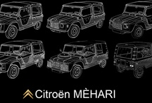 Citroën Méhari / Board containing méharistuff