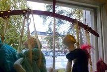 puppets / nukketeatteria/ puppet theatre