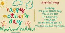 Festa della Mamma - Mother's day / Attività creative e lavoretti per la Festa della Mamma Crafts for the Mother's day