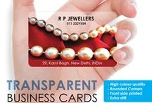 Business Cards and Card Holders / Business Cards that would suit your business needs!