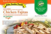 Antibiotic Free Products / Are you hungry to try our new line of Antibiotic Free Beef Fajitas, Chicken Fajitas & Grilled Chicken Strips? They are 100% Vegetarian Fed, #GlutenFree, No Antibiotics, No Growth Stimulants, No Added Hormones and No Preservatives. Still ready in 5 minutes and with the same John Soules Foods taste you love! Look for it in a Kroger near you!