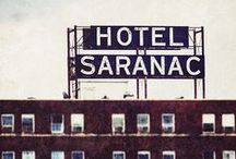 Remember When... / Images of the historic Hotel Saranac in its glory days.