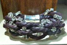 pulseras / pulseras hechas a mano con diversos materiales de primera calidad