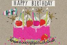 Felicitações - Aniversários