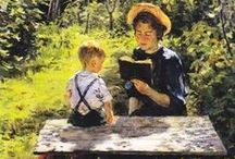 Arte/ livros, Leitura