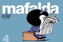 Mafalda, Tirinhas & charges