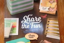Inspired Stamping  2015-16 / Stampin' Up!, Idea Book and Catalog 2015-16, products, projects