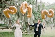 NYE Wedding / What better way to kick off the new year than with an amazing party celebrating your marriage?!