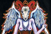 Baphomet / Baphomet themed things I've collected on the internet