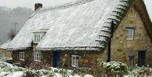 Stone Cottage Winter