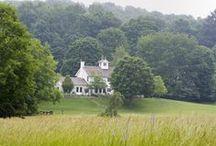 Country White Farmhouse