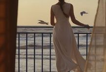 """Solitude by the Sea / """"The sea always filled her with longing, though for what she was never sure.""""  ~ Cornelia Funke"""