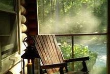 """Wood Song Cottage / From Sara Teasdale's poem """"Wood Song"""""""