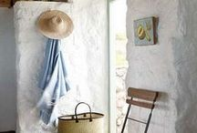 Sea Cottage at Paternoster / White-washed stone cottages in this fishing village on the west coast of South Africa...