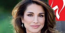 Queen Rania of Jordan, the beaming smile /  my photo collection since 2006 till this very moment