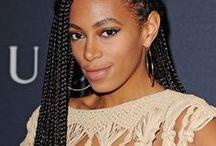 Celebrity Braids / African hair braiding, Senegalese Twists, Kinky Twists, Pixie Braids, Tree Braids, Cornrows, Bobs, Box Braids, Micro Braids, Dreads. On celebrities.