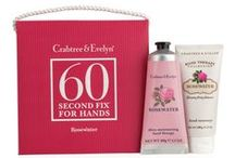 Hand Care Gifts / Give the gift of pampered hands with Crabtree & Evelyn's hand and nail care gift sets.