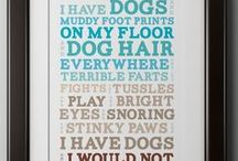 Dog Quotes / Funny, inspirational and cute dog quotes.