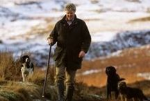 Men's Dog Walking Attire / Coats and accessories for the stylish man whilst walking the dog in town or country.