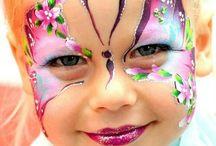 Kinderschminken / Kid face painting