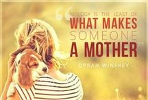 Dogs on Mother's Day / Mother's Day pictures with dogs included and inspirational Mother's Day quotes for dog lovers